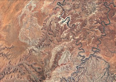 Canyonlands from space