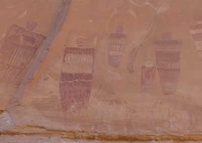 Barrier Style Pictographs, Horseshoe Canyon Unit, Canyonlands National Park, UT