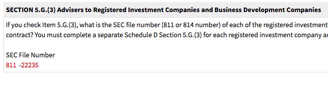 AQR Schedule D 5G3 Screenshot